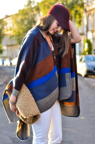 Thankfifi-Marks-Spencer-high-street-Burberry-poncho-replica-fashion-blogger-streetstyle-4